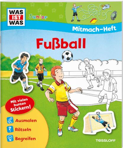 Tessloff WAS IST WAS Junior Mitmach-Heft Fußball
