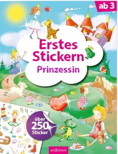 Erstes Stickern Prinzessin