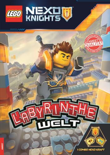 LEGO® Nexo Knights - Labyrinthe-Welt - Rätselbuch