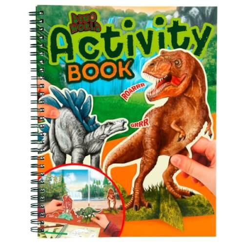 Depesche 6640 Dino World Activity Book
