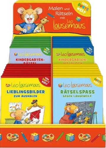 Leo Lausemaus - Beschäftigungsreihe sortiert