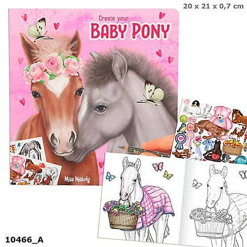 Depesche 10466 Miss Melody Create your Baby Pony