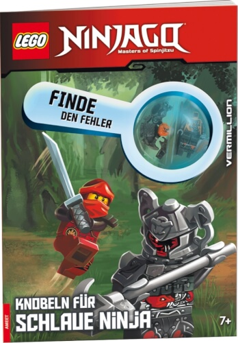 LEGO® NINJAGO® Finde den Fehler  Knobeln für schlaue Ninja