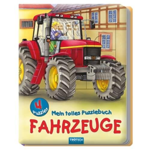 Puzzlebuch Fahrzeuge