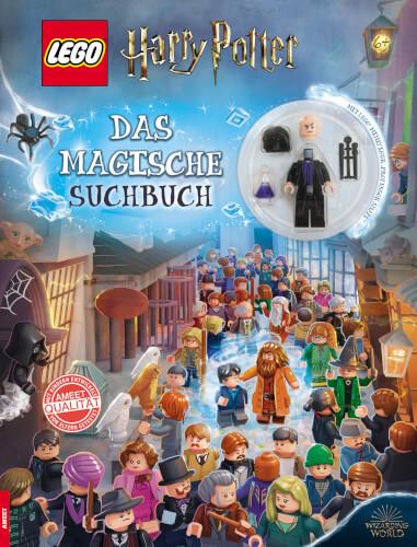LEGO Harry Potter - Das magische Suchbuch für Kinder ab 6 Jahren.