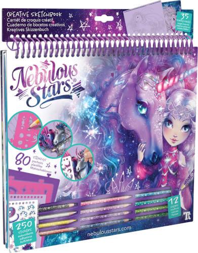 Nebulous Stars Kreatives Skizzenbuch Fantasiepferde Galaxie