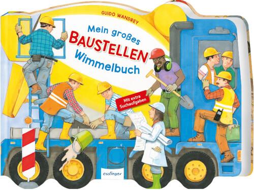 Mein großes Baustellen-Wimmelbuch