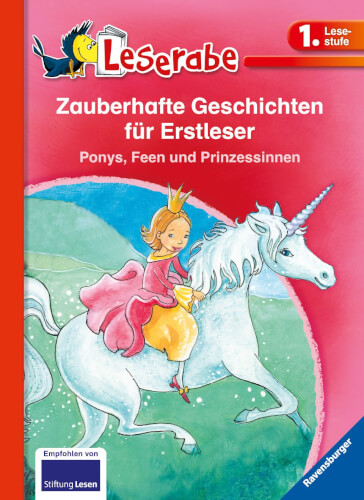 Ravensburger 36292 Zauberhafte Geschichten für Erstleser. Ponys, Feen und Prin
