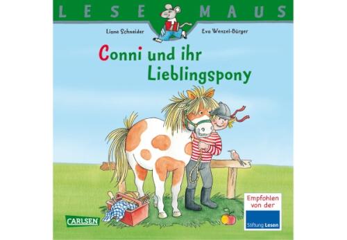 Lesemaus - Band 107: Conni und ihr Lieblingspony, Taschenbuch, 24 Seiten, ab 24 Monate