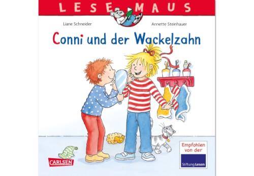 Lesemaus - Band 44: Conni und der Wackelzahn, Taschenbuch, 24 Seiten, ab 3 Jahre