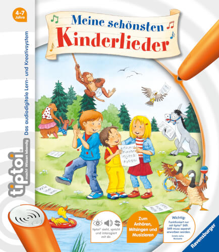 Ravensburger 43514 tiptoi® Meine schönsten Kinderlieder