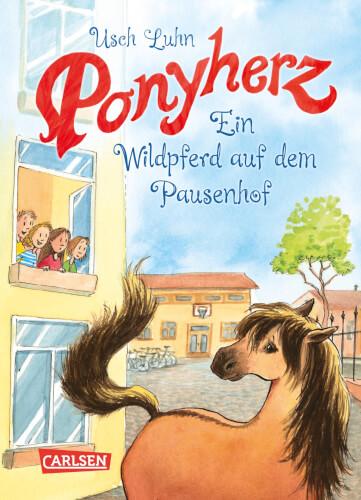 Ponyherz - Band 7: Ein Wildpferd auf dem Pausenhof, Hardcover, 128 Seiten, ab 7 Jahre