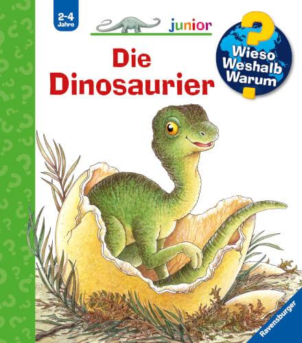 Ravensburger 32797 Wieso? Weshalb? Warum? junior 25: Die Dinosaurier