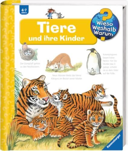 Ravensburger 32743 Wieso? Weshalb? Warum? 33: Tiere und ihre Kinder