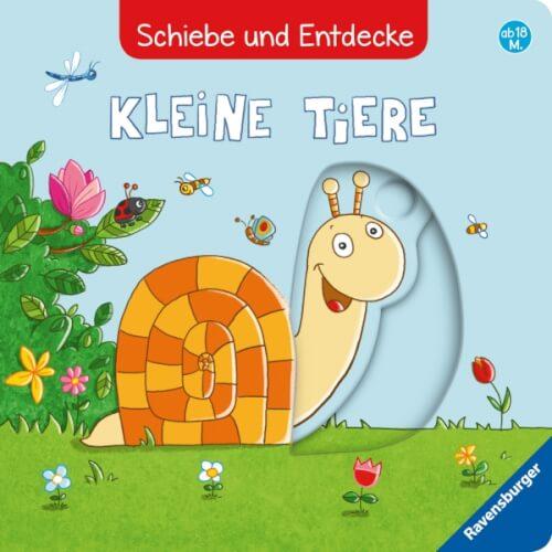 Ravensburger 26791 Schiebe und Entdecke: Kleine Tiere