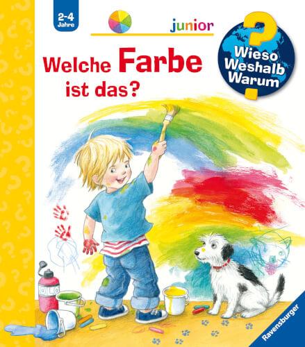 Ravensburger 32889 Wieso? Weshalb? Warum? junior Band 13: Welche Farbe ist das