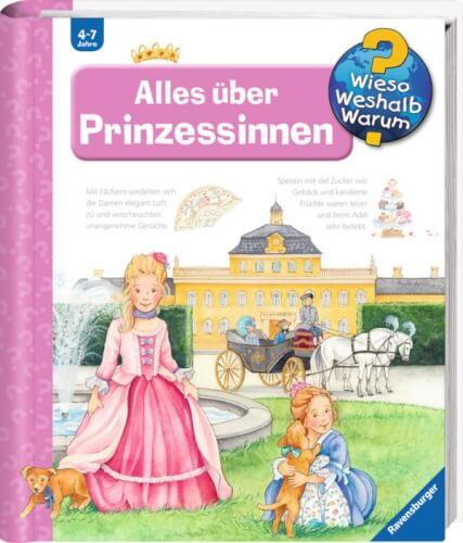 Ravensburger 32894 Wieso? Weshalb? Warum? 15: Alles über Prinzessinnen