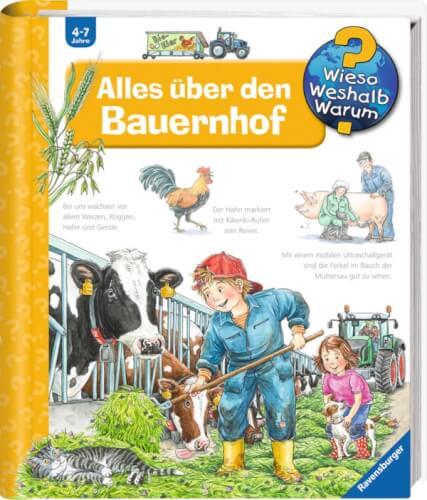 Ravensburger 32896 Wieso? Weshalb? Warum? 3: Alles über den Bauernhof