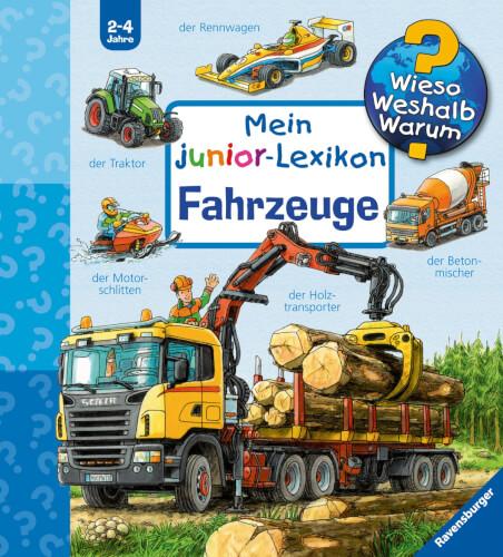 Ravensburger 022356 Mein Junior Lexikon Fahrzeuge