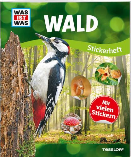 Tessloff WAS IST WAS Stickerheft Wald