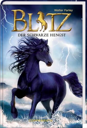 Blitz - Der schwarze Hengst, Band 1, ab 9 Jahre, 224 Seiten