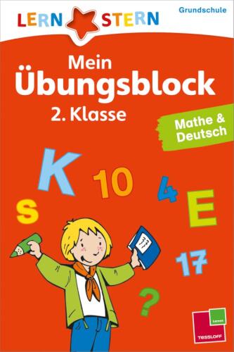 Tessloff Mein Übungsblock 2.Klasse. Mathe und Deutsch 2. Klasse