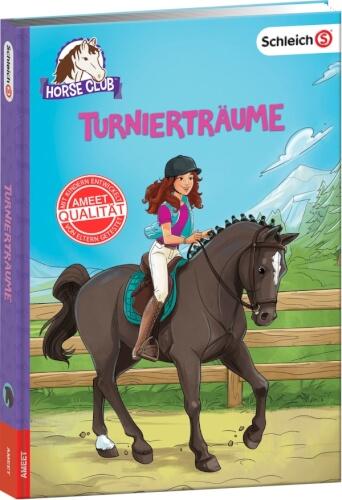 SCHLEICH® Horse Club - Turnierträume, Lesebuch, 128 Seiten, ab 8 Jahren