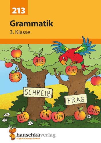 Grammatik 3. Klasse. Ab 8 Jahre.