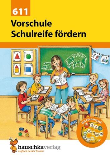 Vorschule: Schulreife fördern. Ab 5 Jahre.