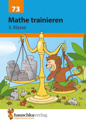 Mathe trainieren 3. Klasse. Ab 8 Jahre.