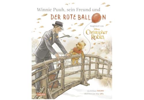Disney, Winnie Puuh, Christopher Robin und der Ballon
