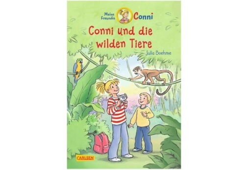 Conni-Erzählbände 23: Conni und die wilden Tiere (farbig illustriert), ab 7 Jahre