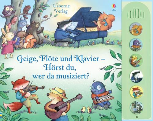 Geige, Flöte u Klavier