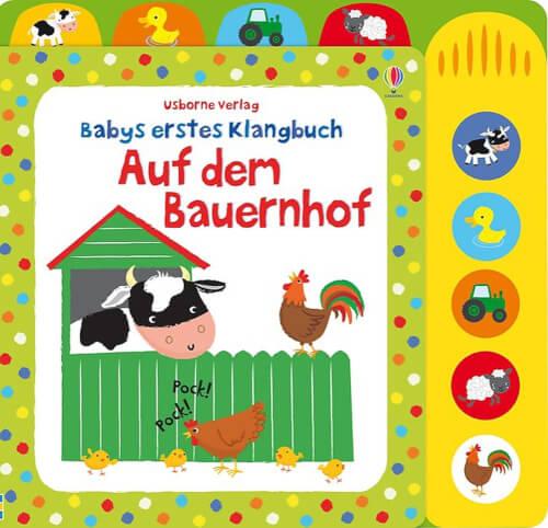Babys erstes Klangbuch: Auf dem Bauer nho