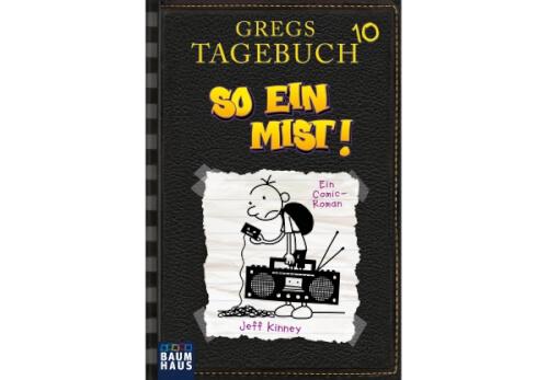 Gregs Tagebuch 10, So ein Mist,Jeff Kinney,