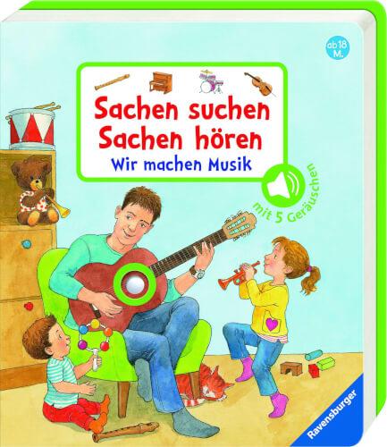 Ravensburger 015146 Sachen suchen, Sachen hören: Wir machen Musik