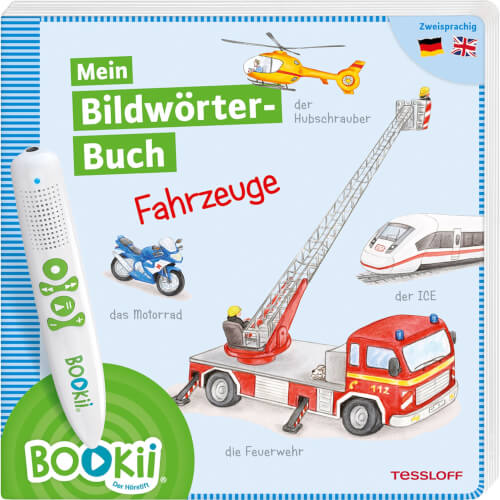 Tessloff BOOKii®. Mein Bildwörterbuch. Fahrzeuge