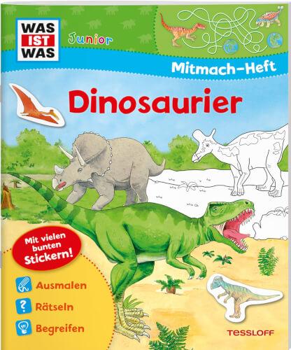 Tessloff WAS IST WAS Junior Mitmach-Heft Dinosaurier