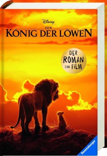 Ravensburger 49148 Der König der Löwen - Roman zum Film