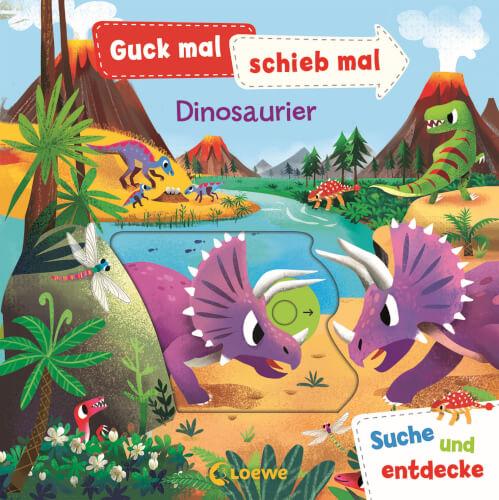 Loewe Guck mal, schieb mal! Suche und entdecke - Dinosaurier