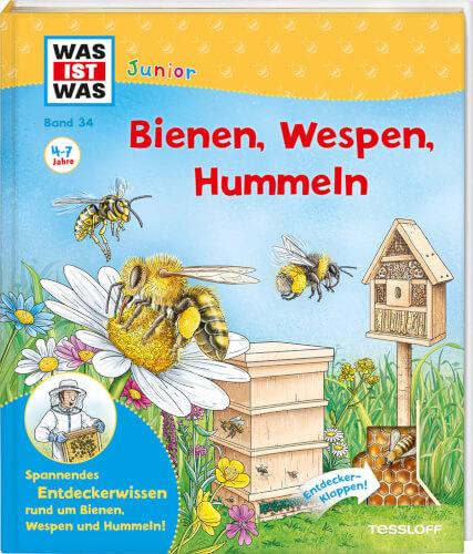 Tessloff WAS IST WAS Junior Band 34 Bienen, Wespen, Hummeln