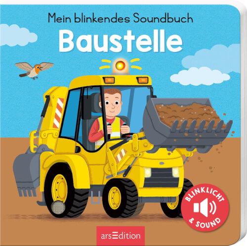 Mein blinkendes Soundbuch - Auf der Baustelle