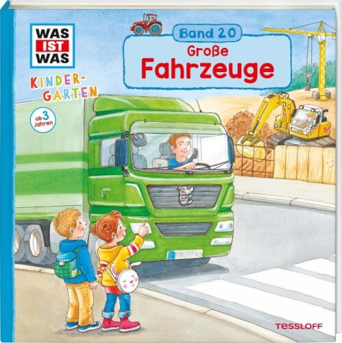 WAS IST WAS Kindergarten Band 20. Große Fahrzeuge