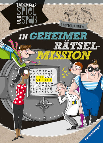 Ravensburger 41626 In geheimer Rätsel-Mission