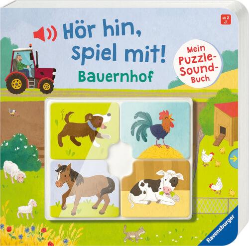 Ravensburger 43991 Mein Puzzle-Soundbuch: Bauernhof