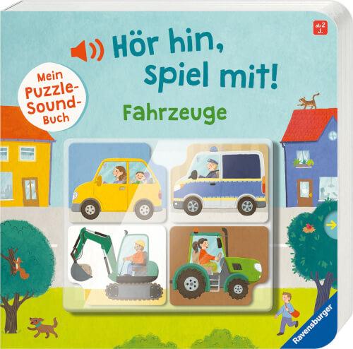 Ravensburger 43992 Mein Puzzle-Soundbuch: Fahrzeuge