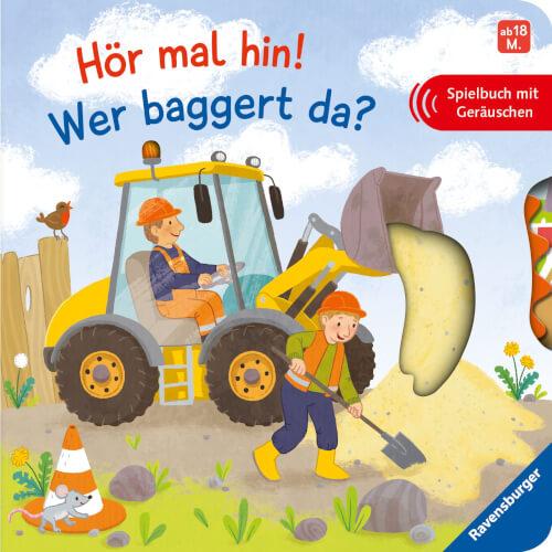 Ravensburger 43988 Hör mal hin! Wer baggert da?