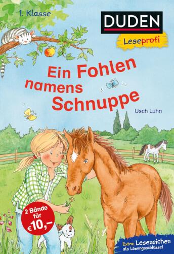 Duden Leseprofi – Ein Fohlen namens Schnuppe, 1. Klasse