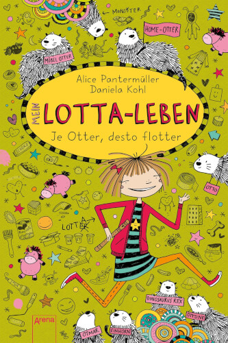 Pantermüller, Alice/Kohl, Daniela: Mein Lotta-Leben Band 17. Je Otter, desto flotter