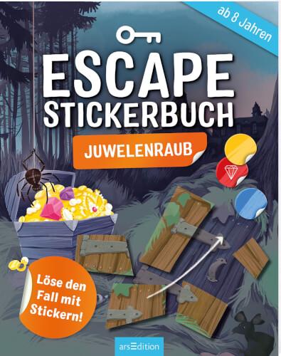 Escape-Stickerbuch Juwelenraub